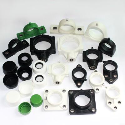 FL205白色塑料轴承座厂家直销