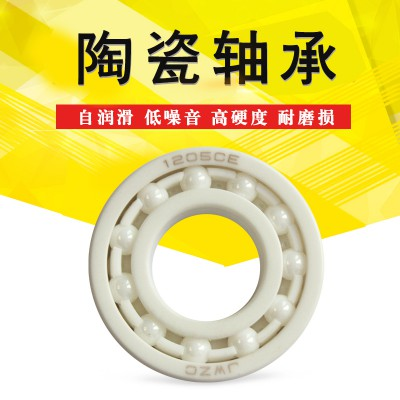调心球陶瓷轴承1203CE工厂价格 无油润滑 绝缘轴承