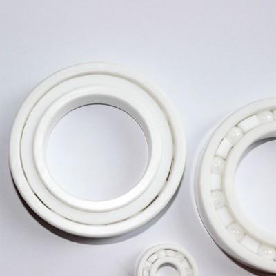 无磁防水绝缘氧化锆轴承全陶瓷6304CE轴承 20*52*15mm
